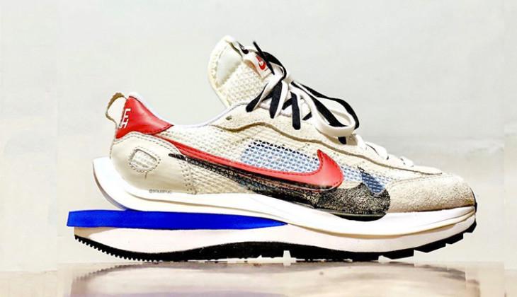 Las Sacai X Nike Vapor Waffle están más cerca!