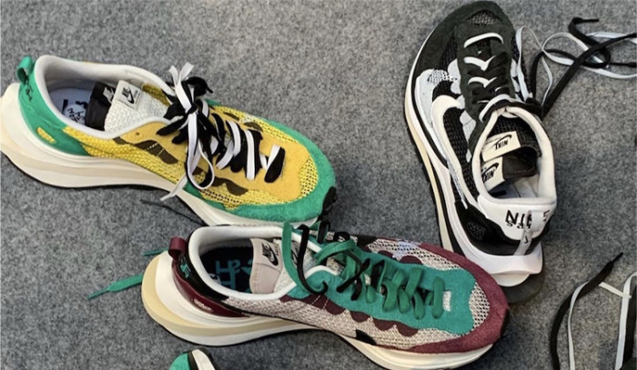 Primeras imágenes de las Sacai x Nike Pegasus Vaporfly!