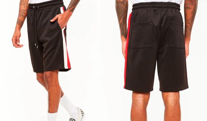 shorts-trackline-forever-21