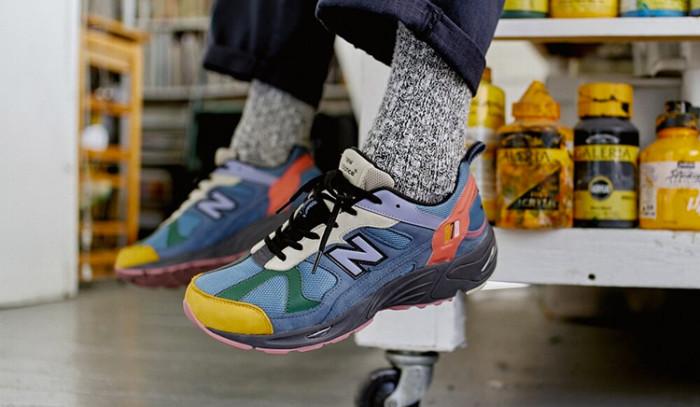Nuevo pepino de Size x New Balance 878 Exclusive