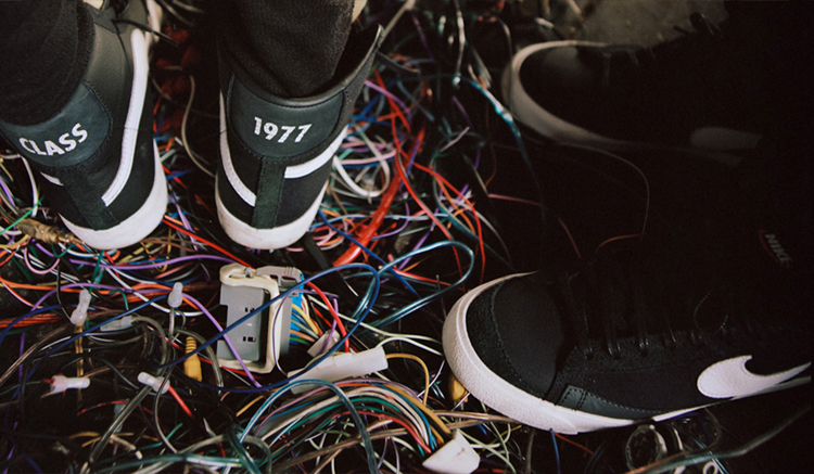 "Slam Jam Nike Blazer Mid ""Class 1977"" CD8233-001"