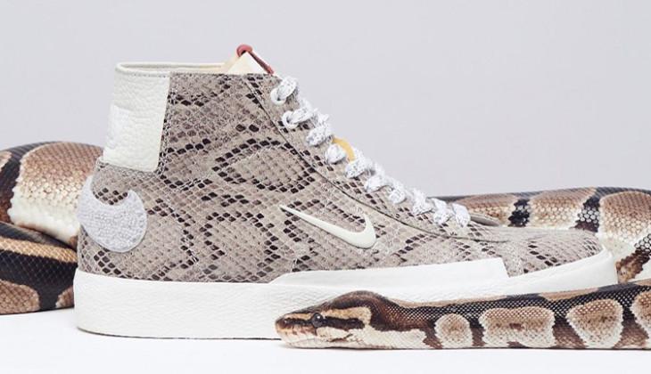 Descubre tu lado salvaje con las Soulland X Nike SB Blazer Mid