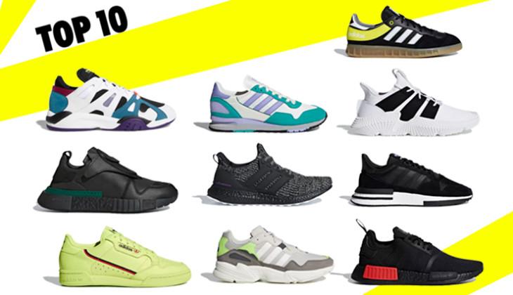 Top 10 sneakers en adidas ahora mismo!