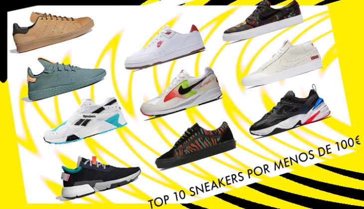 Top 10 sneakers por menos de 100 €!