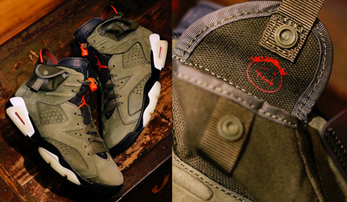 Fotos oficiales de las Travis Scott x Air Jordan 6