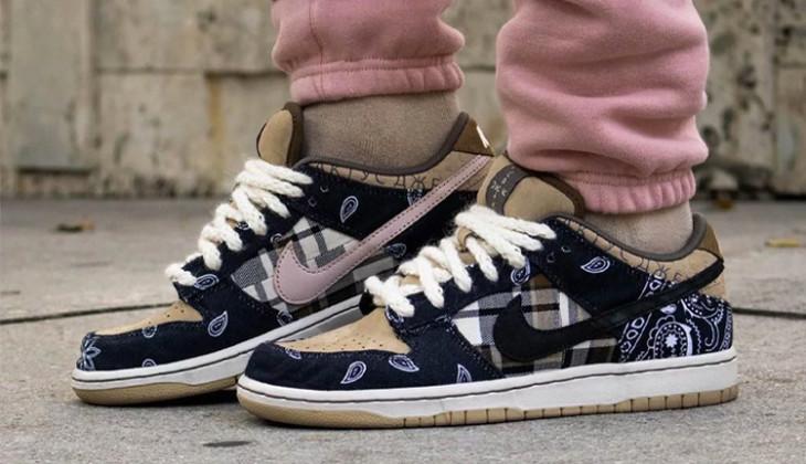 Las Travis Scott x Nike SB Dunk saldrán el 29 de febrero