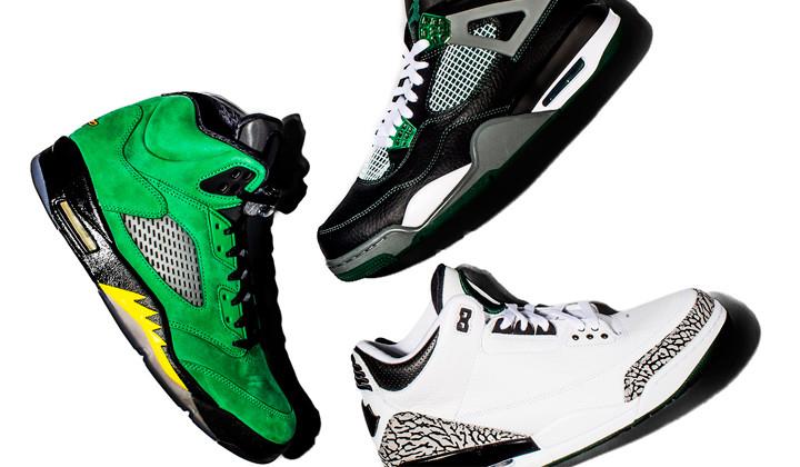 University of Oregon x Air Jordan Collection