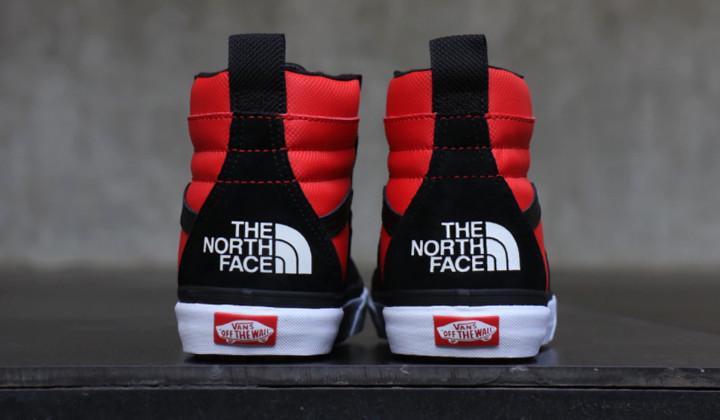 comprar vans x the north face