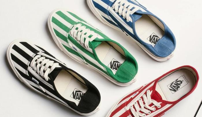 Nuevos colores para las Vans OG Style 43 LX Striped