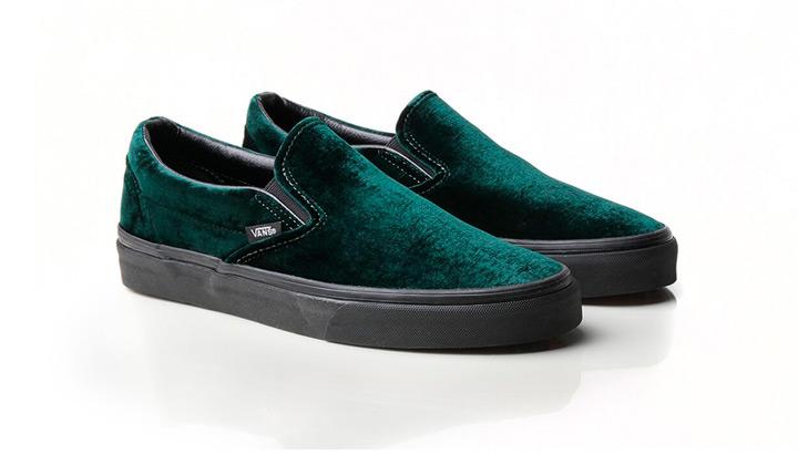 vans-slip-on-velvet-green