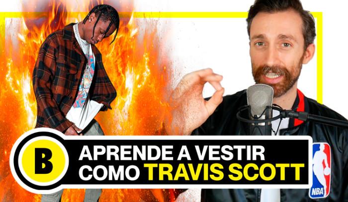 Backseries TV : Aprende a vestir como Travis Scott!