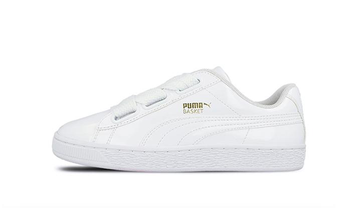 zapatillas-blancas-puma-basket-heart-patent